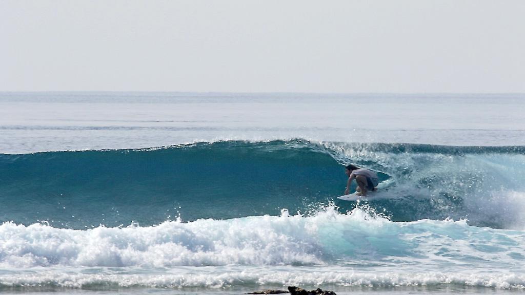 Custom Board per Andrea La Muerte alle Maldive