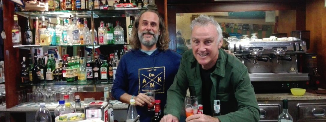 Phil Grace and Dr.ank Knights of Tuscany