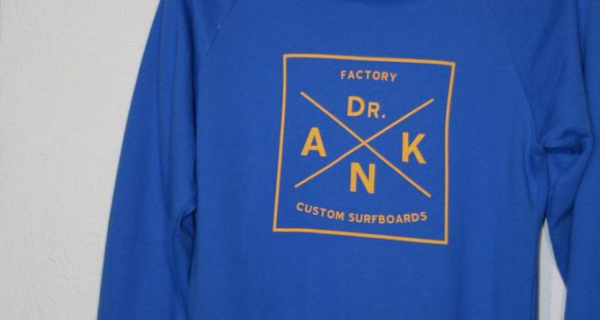 Nuove felpe estive Dr.ank Custom Surfboards
