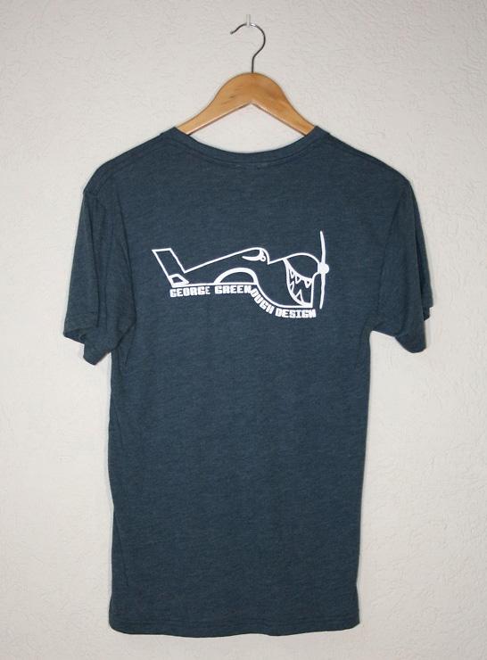 George Greenough. t-shirt